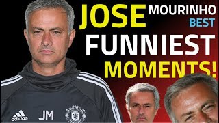 JOSE MOURINHO  FUNNIEST MOMENTS   BEST INTERVIEWS   ALL INSULTS   HILARIOUS MOMENTS FROM 2000 2019