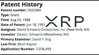 XRP Ledger Deletable Accounts And Ripple CTO 1991 Patent