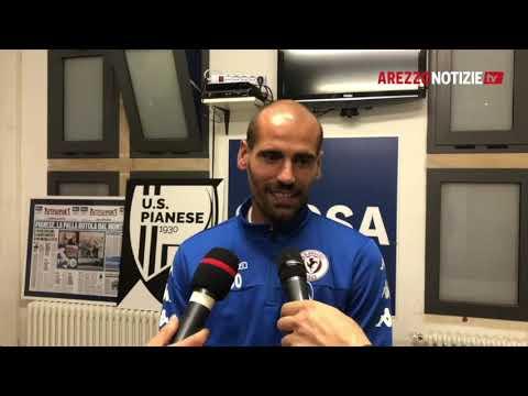 Pontedera-Arezzo 1-2, intervista a mister Potenza