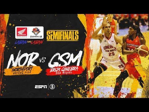 Full Game: G1: NorthPort vs Ginebra | PBA Governors' Cup 2019 Semifinals