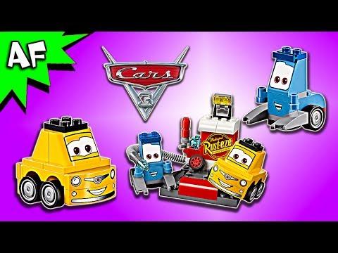 Vidéo LEGO Juniors 10732 : L'arrêt au stand de Guido et Luigi