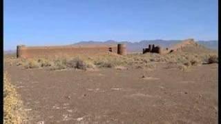 Old caravanserai in Iranian desert