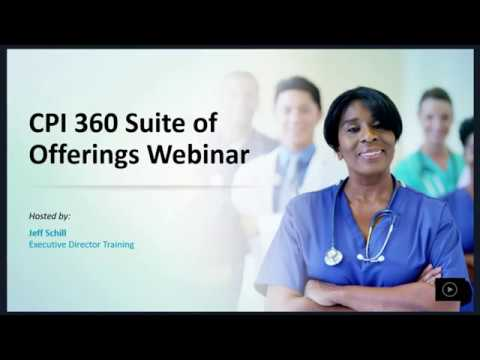 Webinar: Learn About CPI Verbal Intervention™ Training ... - YouTube