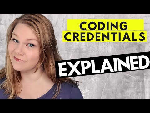 MEDICAL CODING CERTIFICATIONS - Coder Credentials and ...