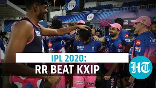 IPL 2020: Rajasthan Royals chase record total to beat KXIP by 4 wickets - Download this Video in MP3, M4A, WEBM, MP4, 3GP