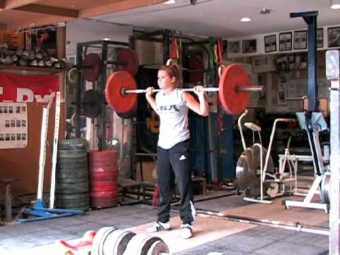 Barbell Push Press - Behind the Neck