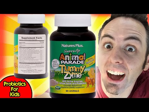 BEST PROBIOTICS FOR KIDS | Nature's Plus Source of Life Tummy Zyme Enzymes Taste Test & Review