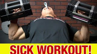 Working Out When Sick (LIFTING WEIGHTS)