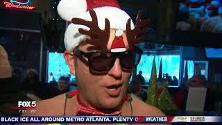 Santa Speedo run in Atlanta