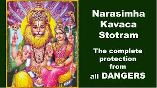 Narasimha Kavaca Stotram - The complete protection from all dangers - THE