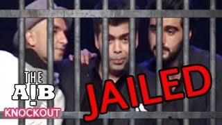 AIB KNOCKOUT CONTROVERSY  Ranveer Singh Arjun Kapoor & Karan Johar To Be Sent To JAIL