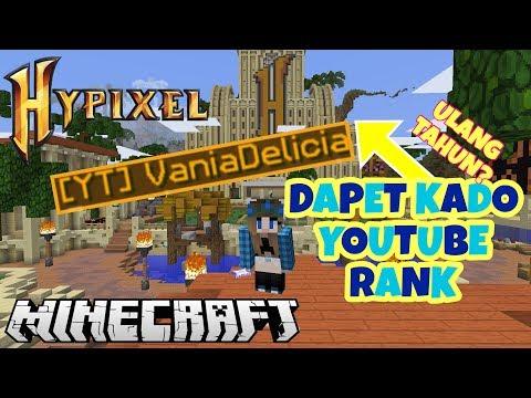 Video YouTube RANK KADO ULANG TAHUN DARI HYPIXEL!!!! - MINECRAFT HYPIXEL