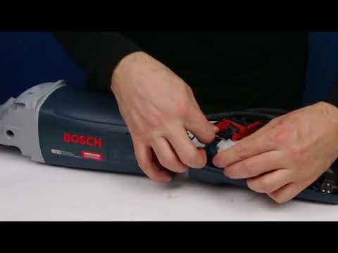 How to assemble Angle Grinder Bosch GWS 24 230 JBV