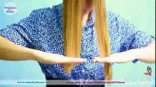 Смотреть онлайн Стрижем сами себе волосы лесенкой