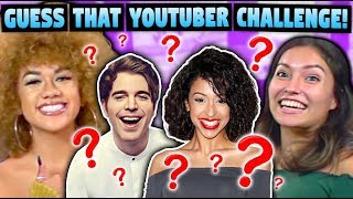 YouTuber Guess Who Challenge (ft. React Cast)