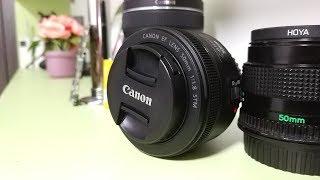 Обзор объектива Canon EF 50mm f/1.8 STM  ► опыт использования