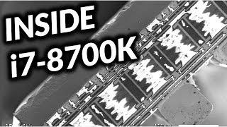 Inside i7-8700K - Scanning Electron Microscope (SEM) Footage (en)