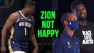 Zion Williamson NOT HAPPY About This...