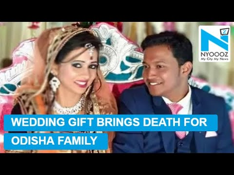 Groom dead, wife injured after 'wedding gift' explodes | Shocking Wedding Video | NYOOOZ TV
