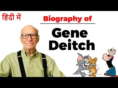 Biography of Gene Deitch, American comic artist who created Tom and Jerry, Popeye and other cartoons