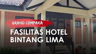 Cocok untuk Liburan Keluarga, Grand Cempaka Puncak Bogor Tawarkan Penginapan ala Hotel Bintang Lima