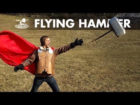 making-thor39s-hammer-quotmjölnirquot-fly-in-real-life