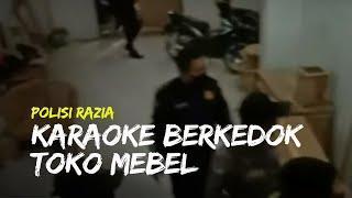 Polisi Gerebek Tempat Karaoke Berkedok Toko Mebel, Ditemukan Banyak Muda-mudi