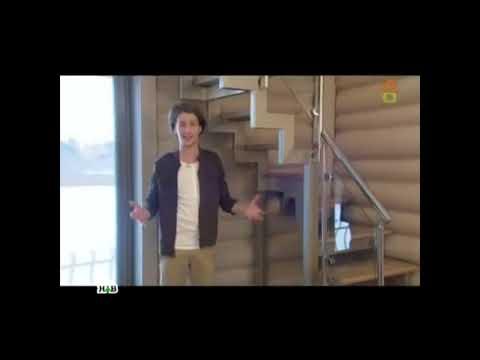 Лестница СуперЭлегант. Дизайн Лестницы в дом на металлокаркасе для НТВ.