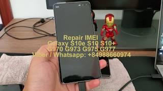 Unlock Repair IMEI Blacklist Samsung Galaxy S10 G973X G973F G973FD
