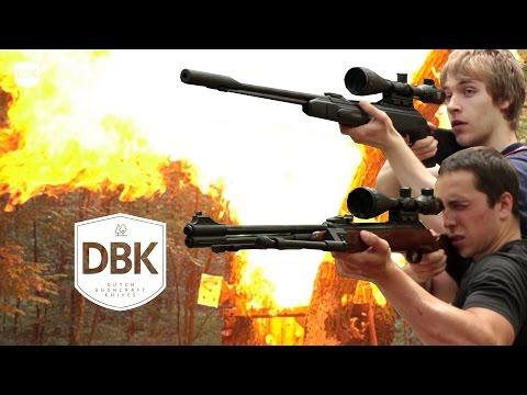 Explosive Destruction Test - Gamo CFX vs Diana 460 Magnum