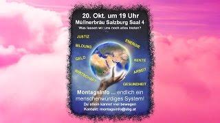 preview picture of video '4. MontagsInfo... von 20. Okt. 2014 in Salzburg - Teil 2von2'