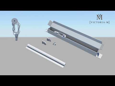 Standard Rollos für Fenster und Türen von VICTORIA M - Montage