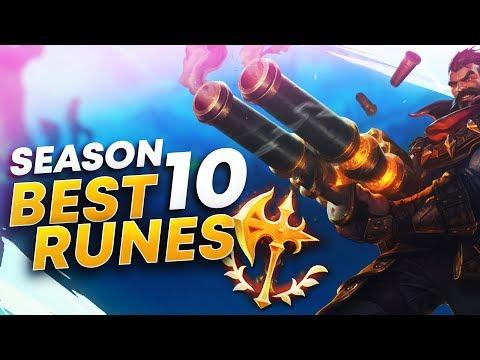 BEST SEASON 10 GRAVES RUNES + BUILD (PRESEASON) | League of Legends