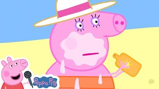 Peppa Pig Official Channel   Peppa Pig's Last Summer Holiday Beach Trip