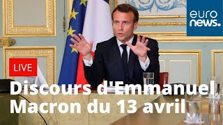 COVID-19 : Retrouvez l'intégralité du discours d'Emmanuel Macron