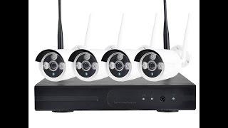 Комплект видеонаблюдения DVR KIT CAD Wireless WiFi-5030 4ch набор на 4 камеры от компании ТехМагнит - видео 3
