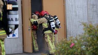 Brandweer massaal naar basisschool Uithoorn voor rookontwikkeling