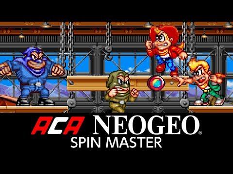 ACA NEOGEO SPIN MASTER thumbnail