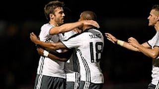 Northampton Taun Vs Manchester United 13 Goals & Highlights 21/09/2016