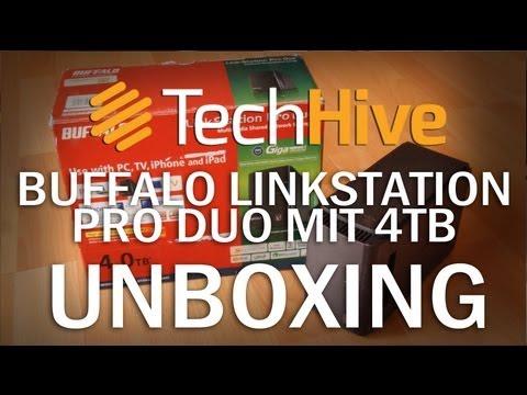 Buffalo Linkstation Pro Duo 4TB NAS im Unboxing