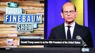 Phillip Discussing President Donald Trump's Inauguration with Paul Finebaum