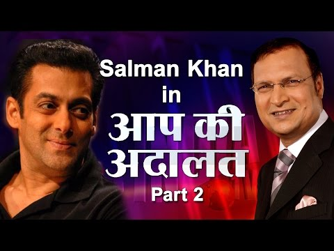 Salman Khan in Aap Ki Adalat (Part 2)
