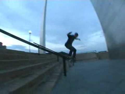Scott Laird skateboarding St. Louis