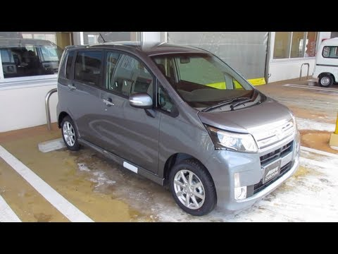 Daihatsu Move/Move Custom Exterior & Interior Video