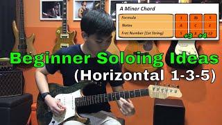 Guitar Emerge - Beginner Guitar Soloing Ideas (Horizontal 1-3-5)