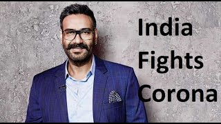 Ajay Devgn shares a video to support India Fights Corona