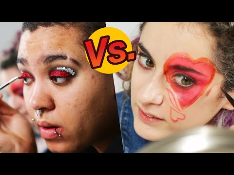 Artist Vs. Beauty Lover Makeup Challenge: Sara Vs. Jazz