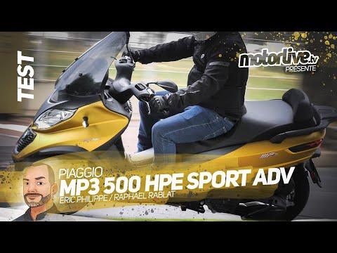 PIAGGIO MP3 500 HPE SPORT ABS/ASR ADV MARCHE ARRIERE