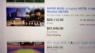 Super Bowl 2017 Houston ticket prices Break Records!