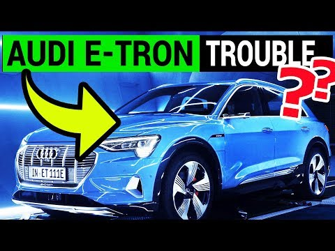 Audi E-TRON Delay & Battery Issues with LG Chem (видео)